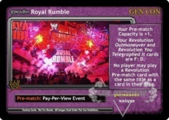 <i>Revolution</i> Royal Rumble - GenCon